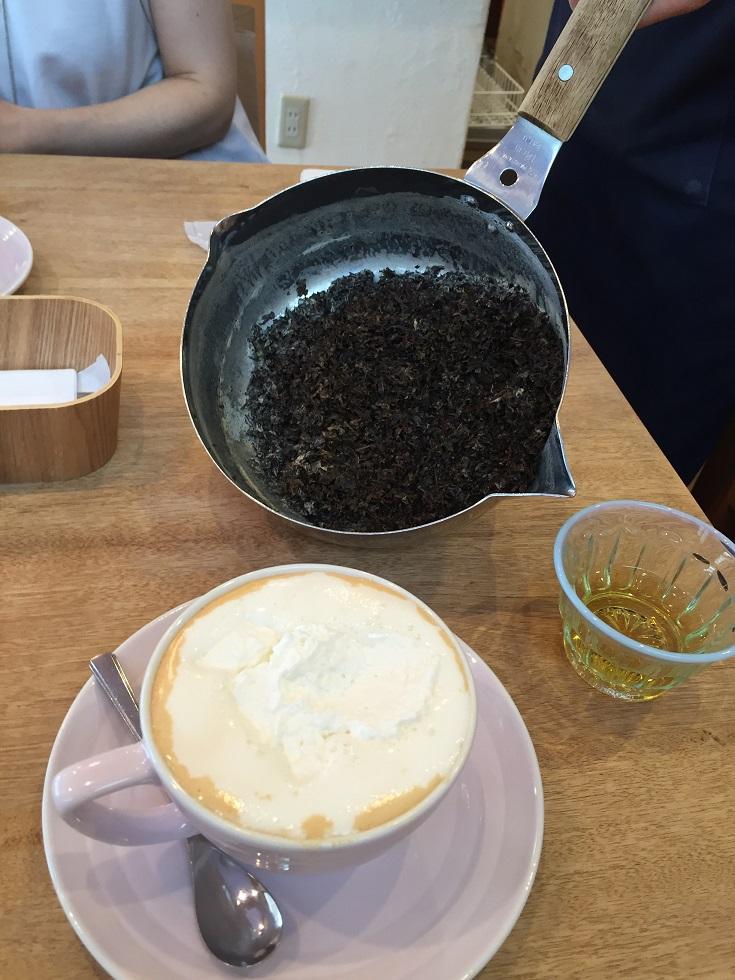 ムレスナ ティー茶葉の量