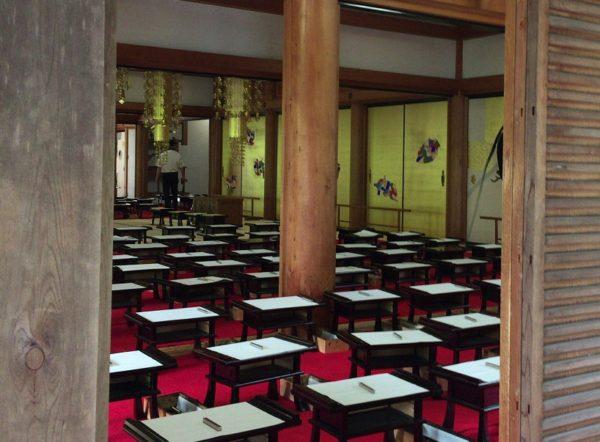 苔寺中の様子